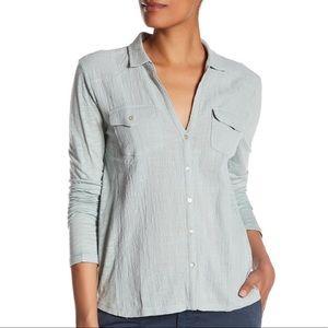 Lucky Brand | Semi-Sheer Button Up Shirt